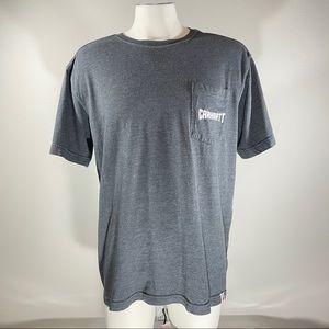 Carhartt Short Sleeve Large Charcoal Shirt
